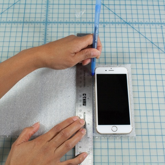 DIY Duct Tape Craft Cell Phone Case