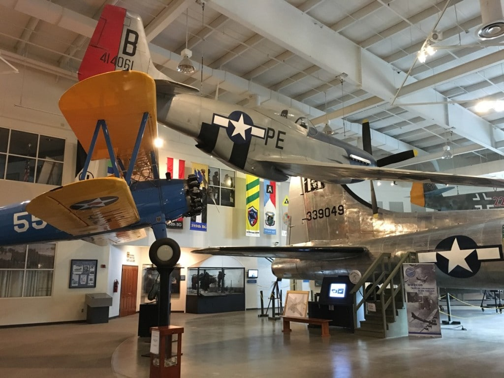 4 Reasons to Stop at the Pooler, Georgia exit while driving on I-95. The Mighty Eighth Air Force Museum is a fun destination