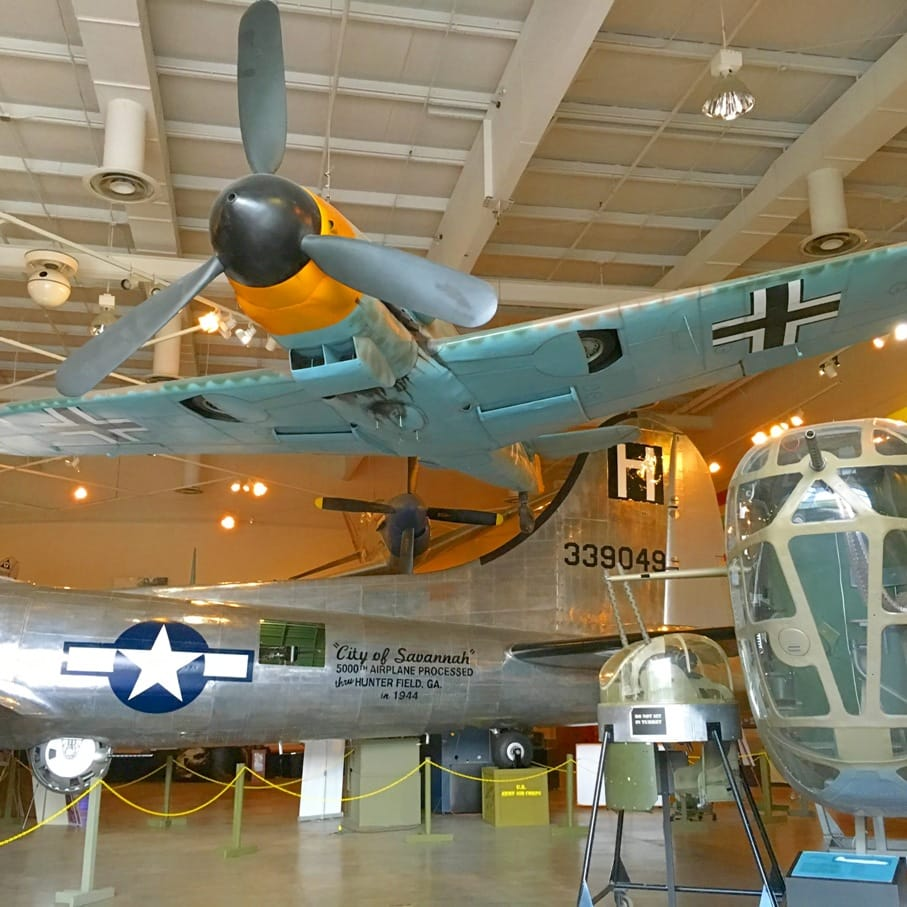 4 Reasons to Stop at the Pooler, Georgia exit while driving on I-95. The Mighty Eighth Air Force Museum is a fun destination.