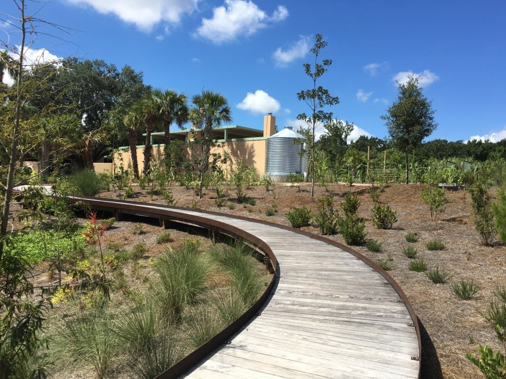 The new Hammock Hollow Children's Garden at Bok Tower Gardens is fun for the entire family! Located in Lake Wales, Florida, just an hour's drive from Disney and Orlando.