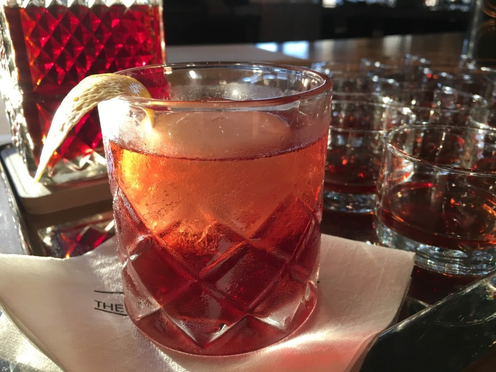 Vieux Carre Cocktail at Four Seasons Resort Orlando