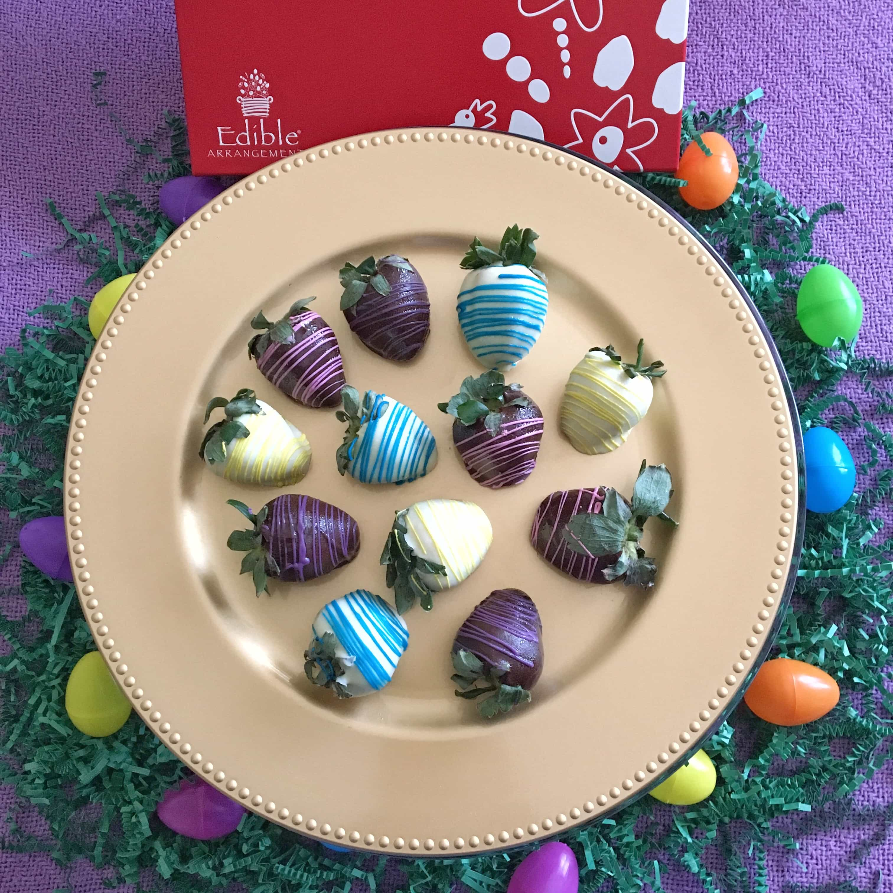 Spring time essentials for the whole family kim and carrie these chocolate covered swizzle berries from edible arrangements are amazing they are fresh strawberries dipped in semisweet and white chocolate with fun negle Choice Image
