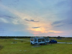 Cape Point Campground at Cape Hatteras National Seashore