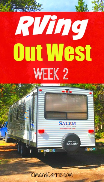 RVing Out West this Summer. Week 2 of our two month road trip. Where we stayed and what we'd suggest for a RV camping trip driving through Nebraska, Wyoming and Grand Tetons National Park.