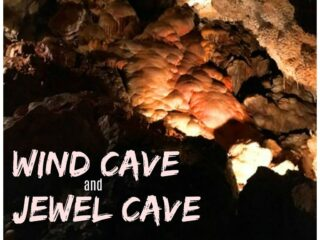 Wind Cave and Jewel Cave in South Dakota. What's the difference between these National Park Service attractions? MUST have information you need to know on how to get tickets and what to bring for a fun destination (I had not idea that I needed to bring some of these things!).