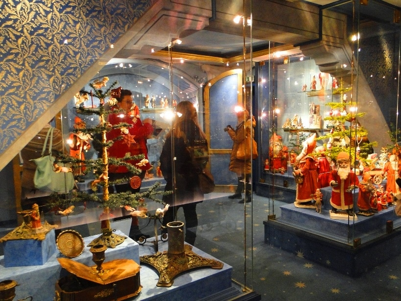 above the kathe wohlfahrt christmas village you will find the german christmas museum the german christmas museum was started by harald wohlfahrt to