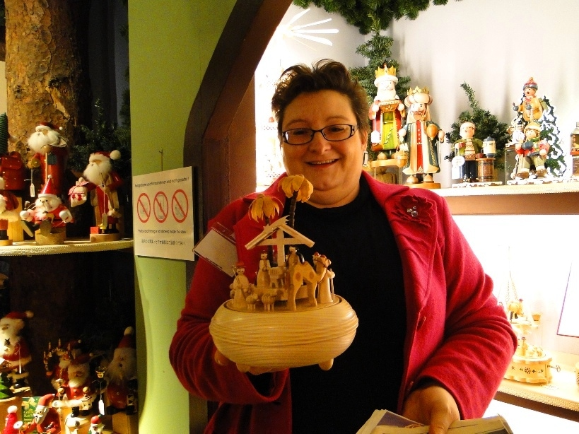 World famous Kathe Wohlfahrt Christmas stores are like a holiday wonderland! Step inside this handmade German wooden toy wonderland. Plus, the German Christmas museum! You've got to see it to believe it!