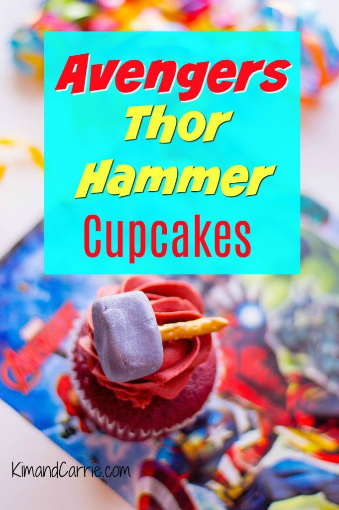 Avengers Thor Hammer Cupcakes Recipe