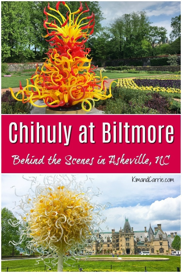 Chihuly at Biltmore Art Installations of Glass