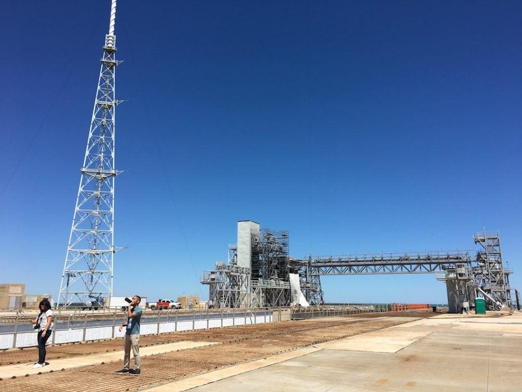 Launch Pad 39B at NASA