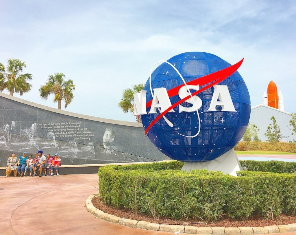 NASA Meatball at Kennedy Space Center
