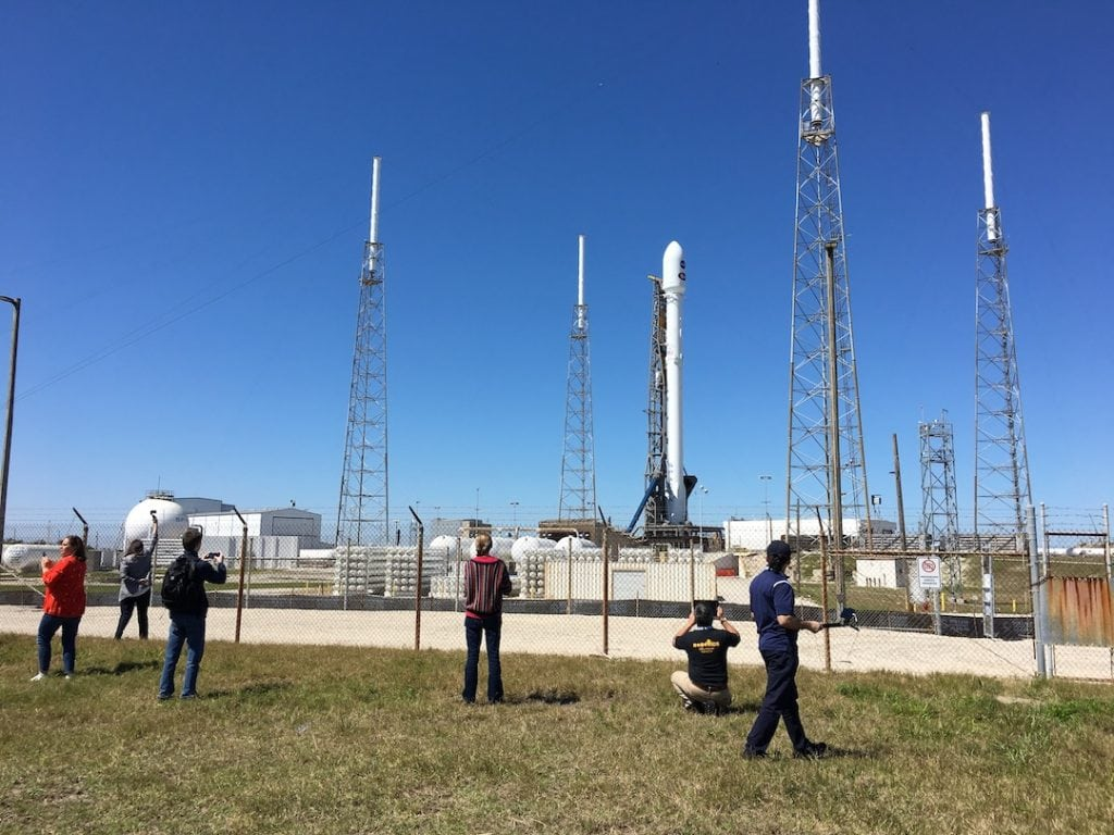 SpaceX Launch Pad at NASA