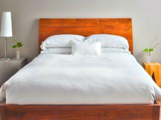 Minimalist Mattress in a Bedroom