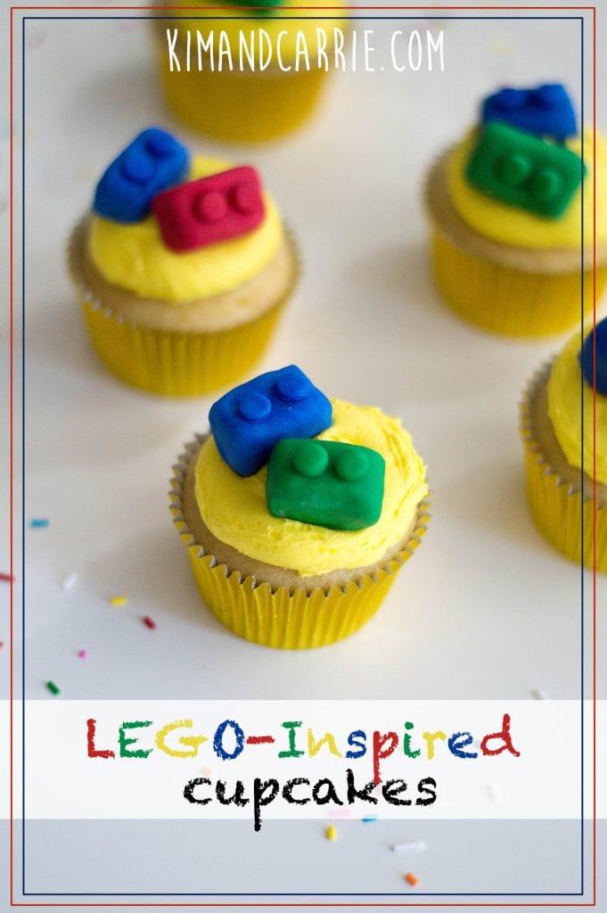 Edible Lego Cupcakes Recipe