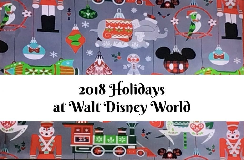 Christmas Walt Disney World 2018 Nordic Winter Print