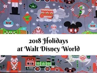 Christmas Walt Disney World 2018 Nordic Winter Print