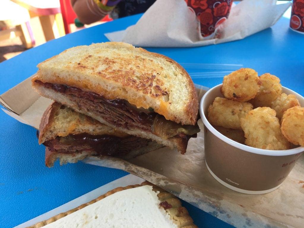 BBQ Brisket Melt Sandwich Toy Story Land