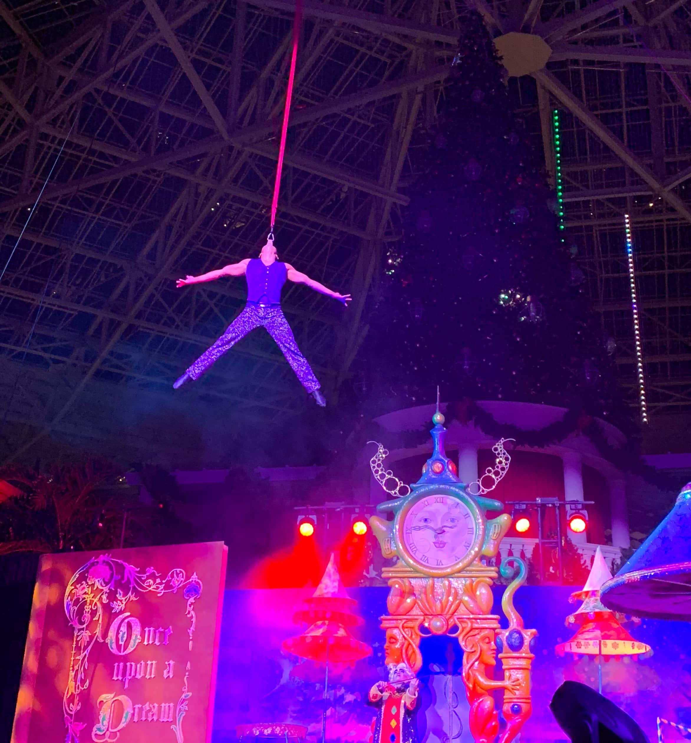 Cirque Dreams Unwrapped Show Gaylord Palms Orlando