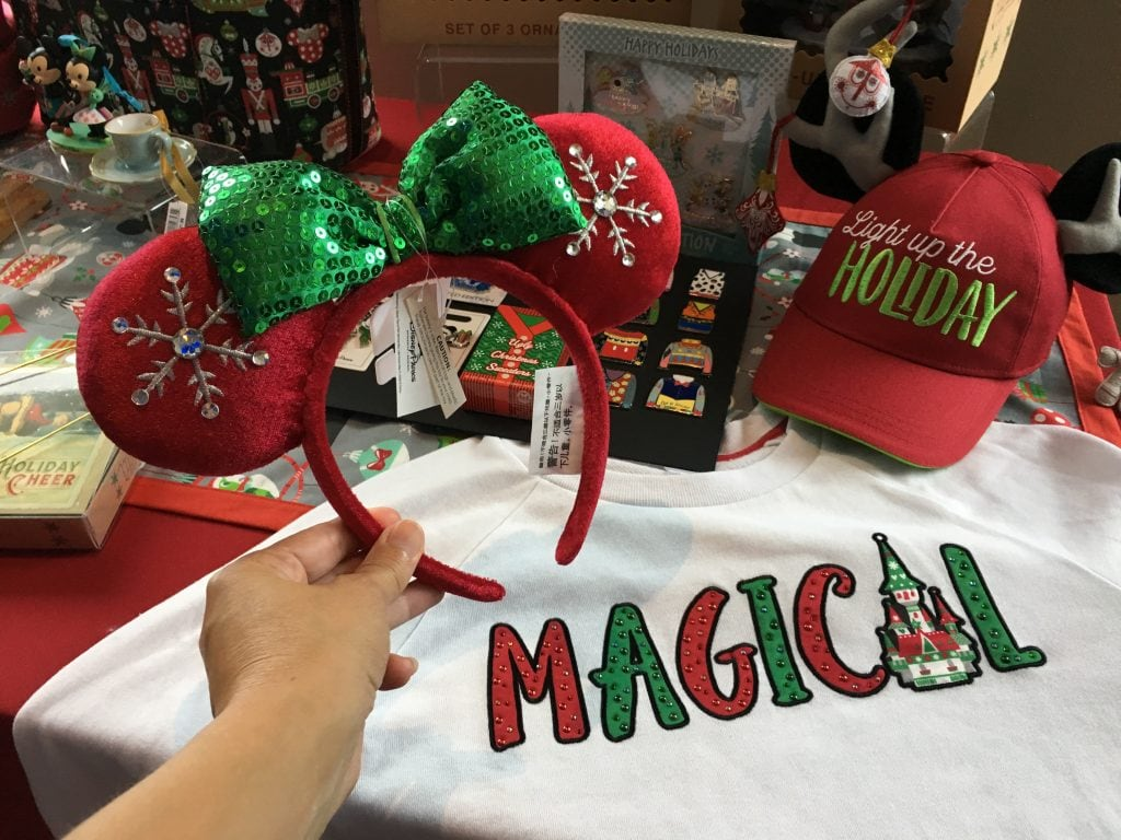 Disney Holidays Christmas Merchandise Walt Disney World