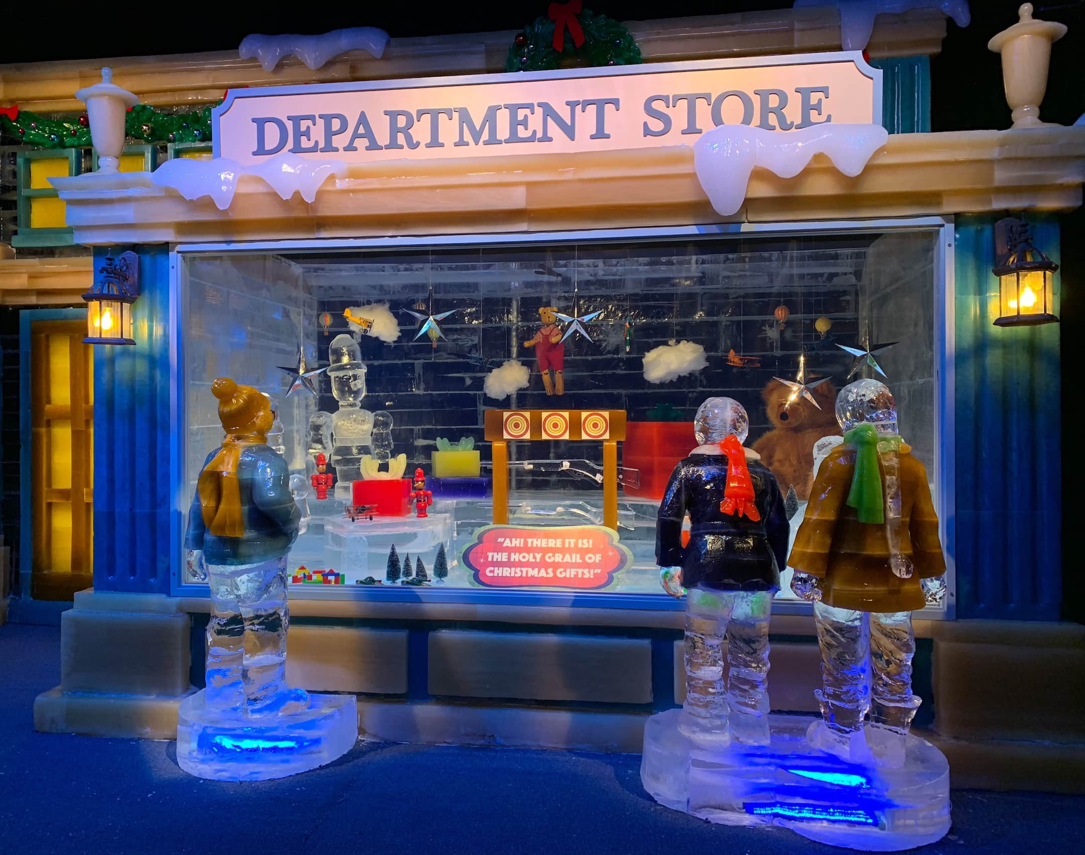 Gaylord Palms ICE 2018 A Christmas Story Orlando Department Store