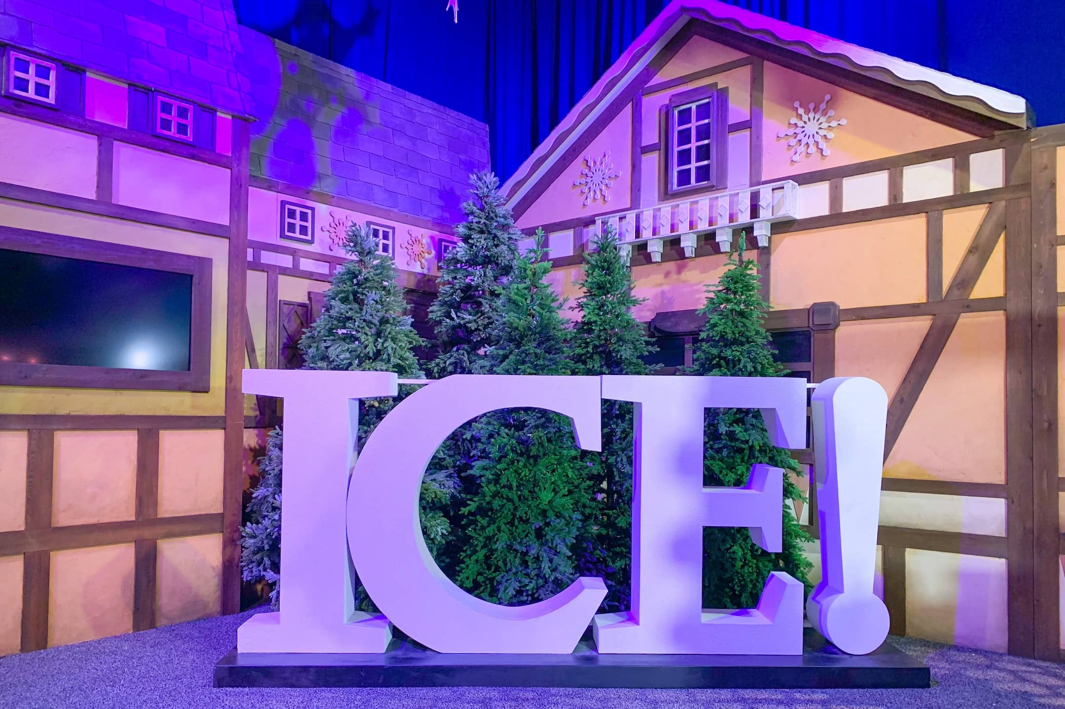 Gaylord Palms ICE 2018 A Christmas Story Orlando Sign