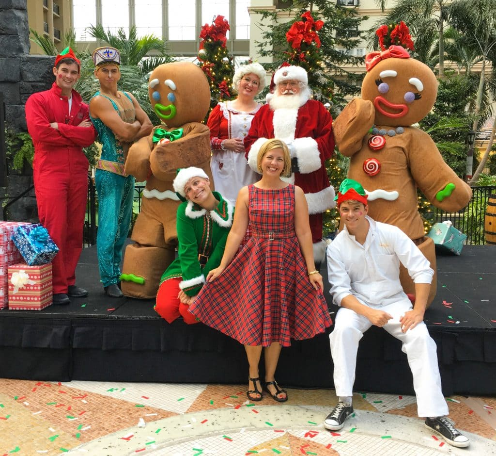 ICE Gaylord Palms 2018 Christmas Characters