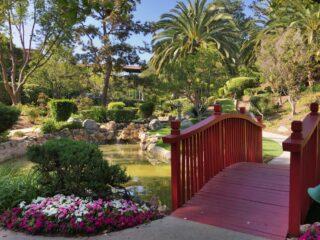 Langham Japanese Garden Pasadena California