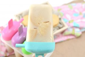 Easy Milk and Cookies Popsicles