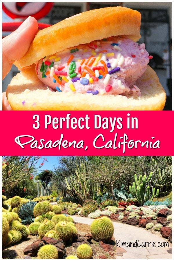 Ice Cream Doughnut Sandwich Cactus Garden Pasadena