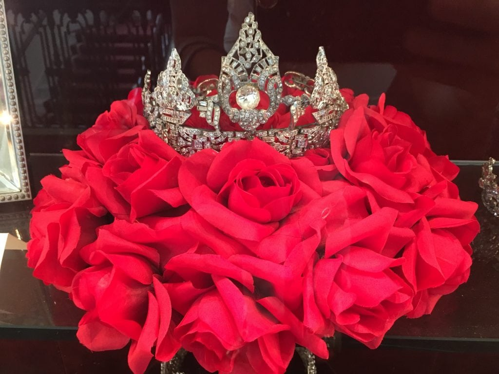 Rose Parade Crown for Queen Pasadena