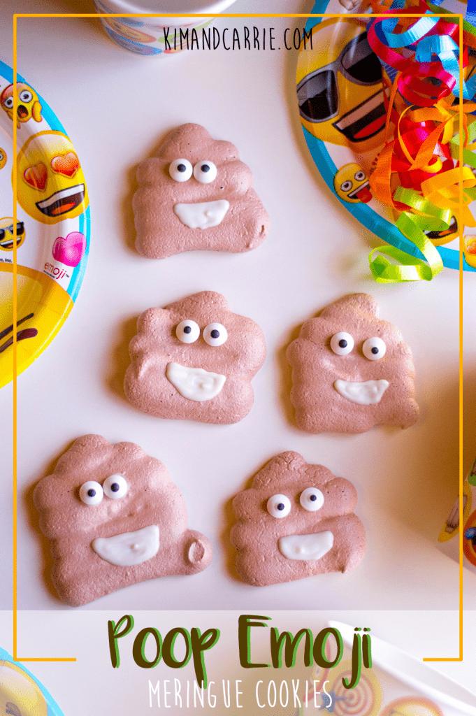 poop emoji cookies Pinterest