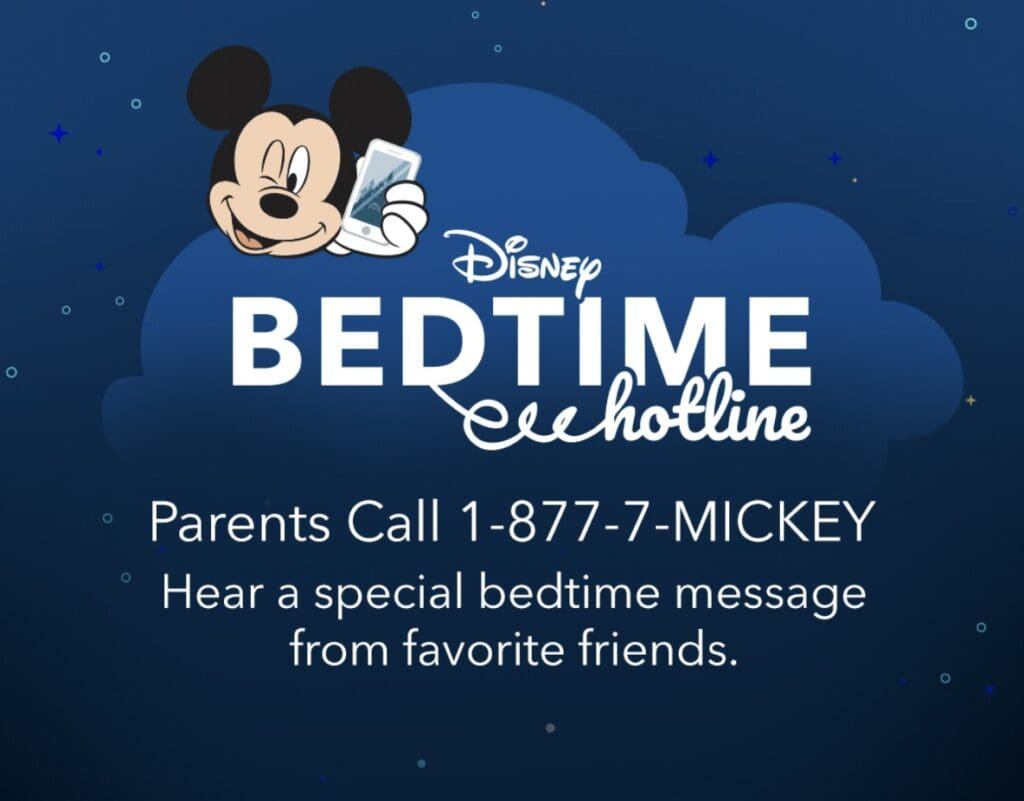 Mickey Mouse talking on a phone