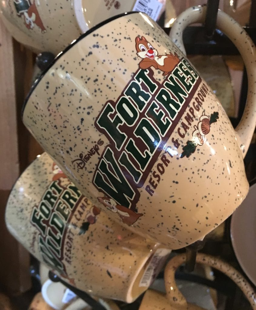 Fort Wilderness Coffee cups mugs