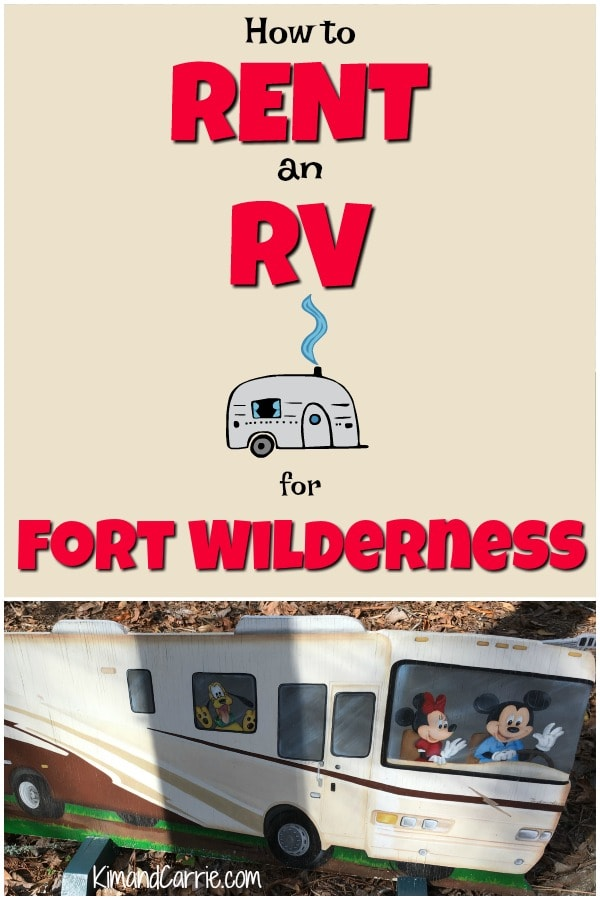 How to rent an RV at Disney World
