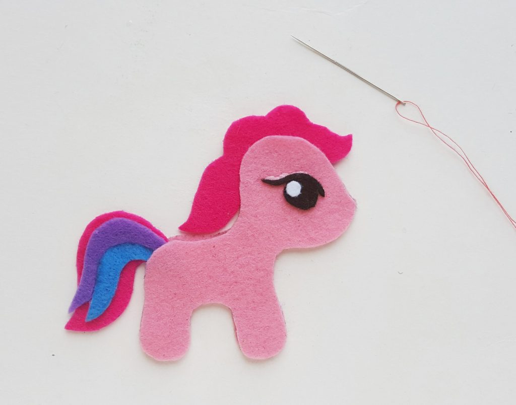 DIY My Little Pony Felt Craft tutorial