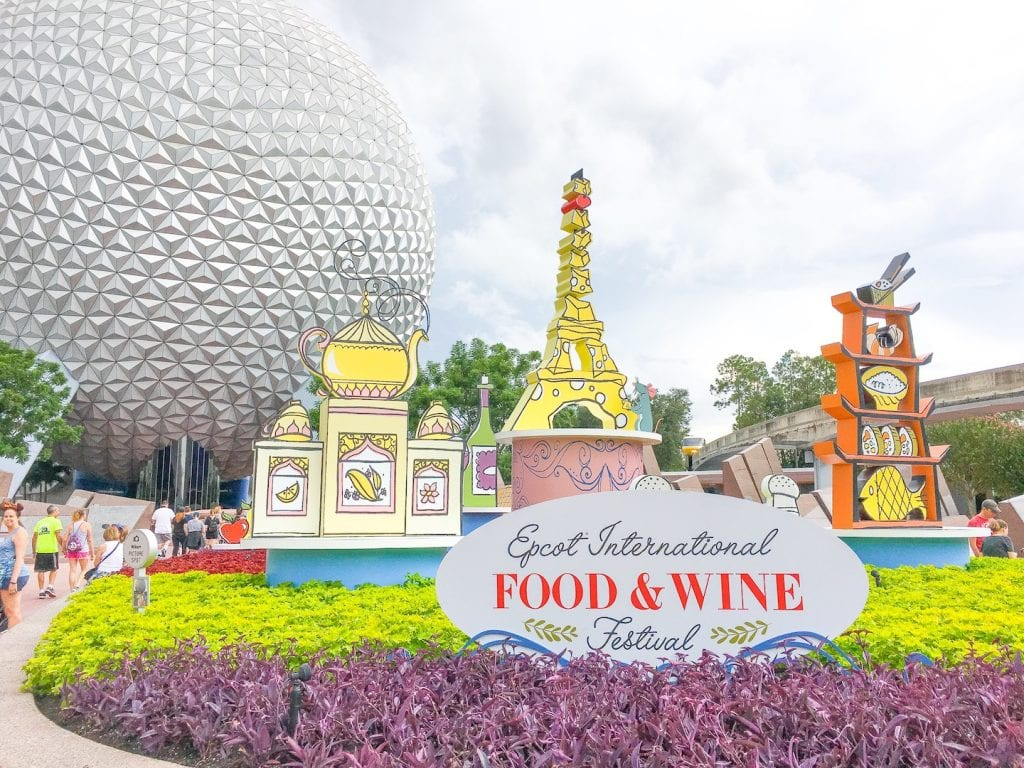 Epcot Food and Wine Festival with Young Kids