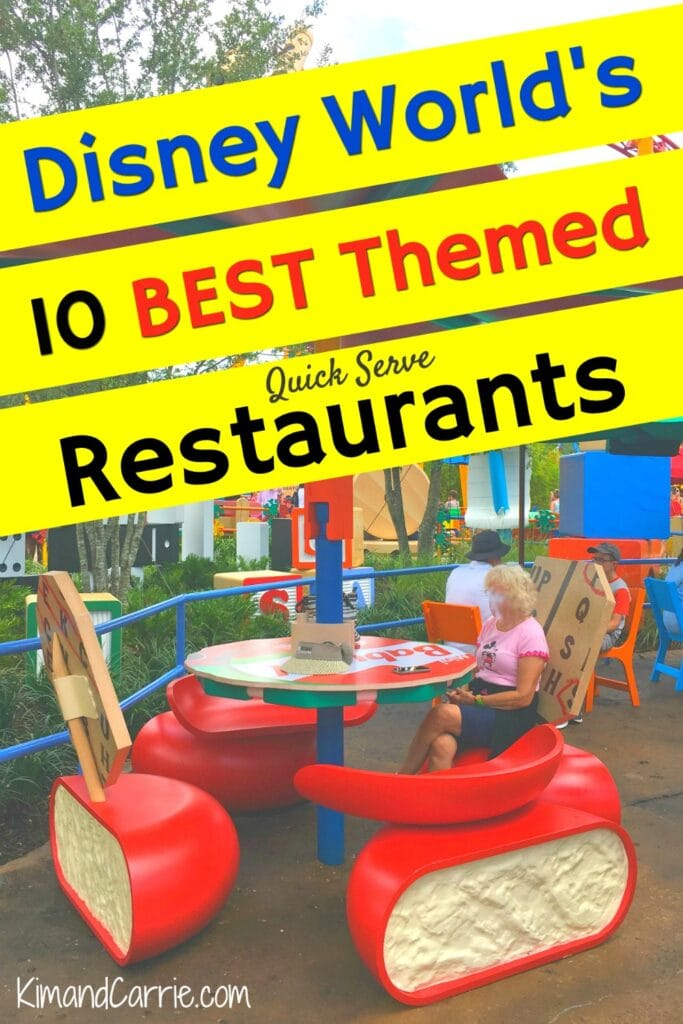 Disney World toy story land restaurant