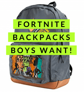 Fortnite Backpacks Boys Want