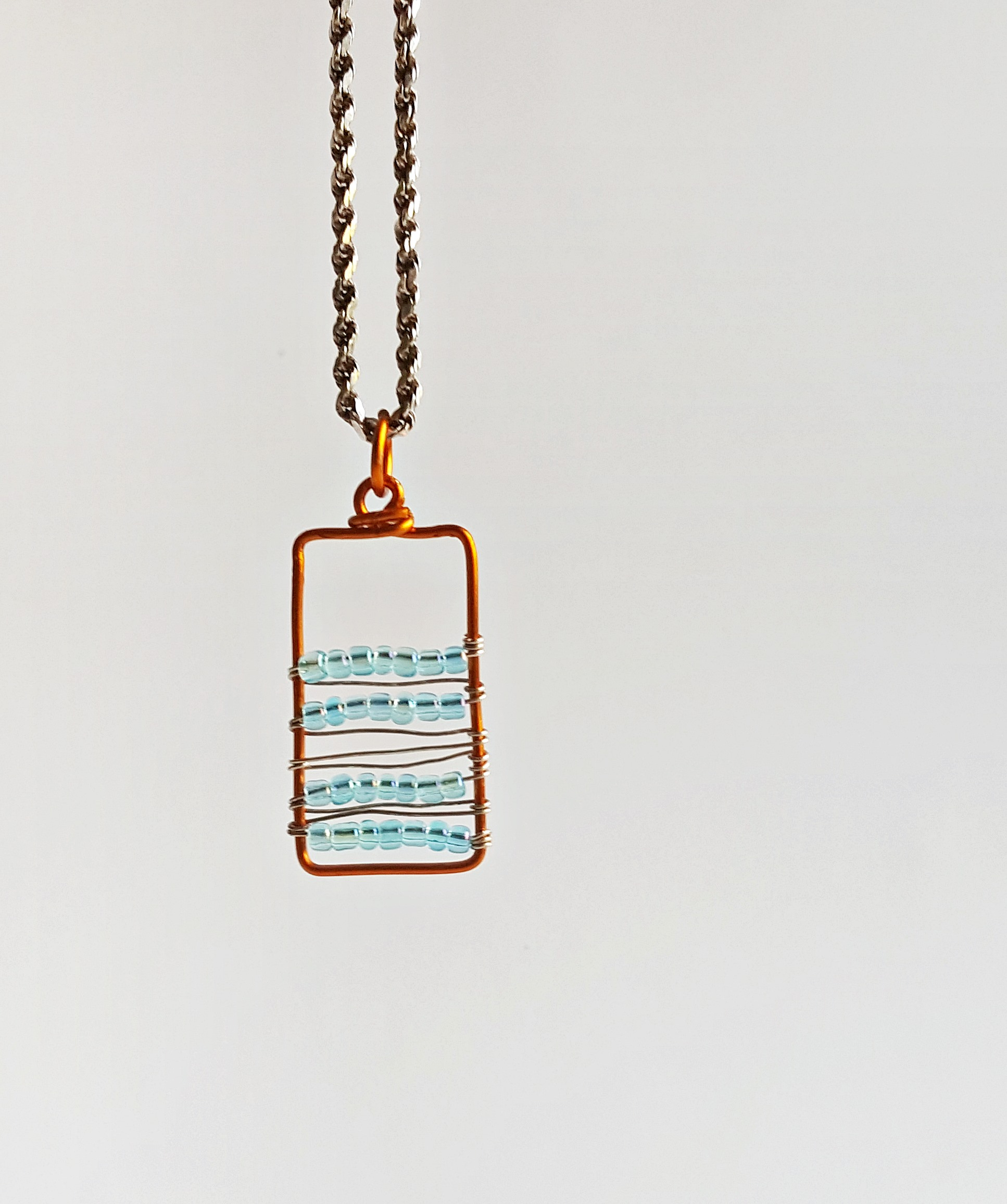 Diy Beautiful Beaded Pendant Necklace Kim And Carrie