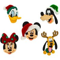 Dress It Up 8236 Disney Button & Embellishments, Holiday Heads