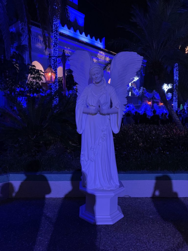 Angel Busch Gardens Christmas Town Tampa Bay