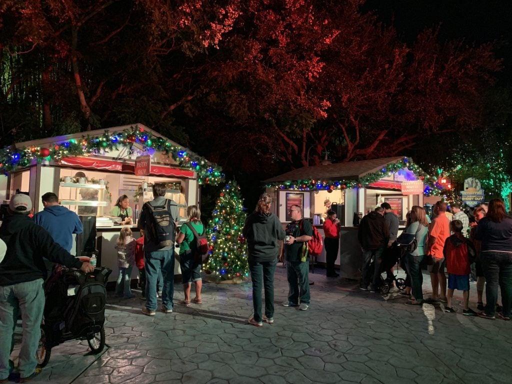 Busch Gardens Christmas Town Christmas Village Tampa Bay
