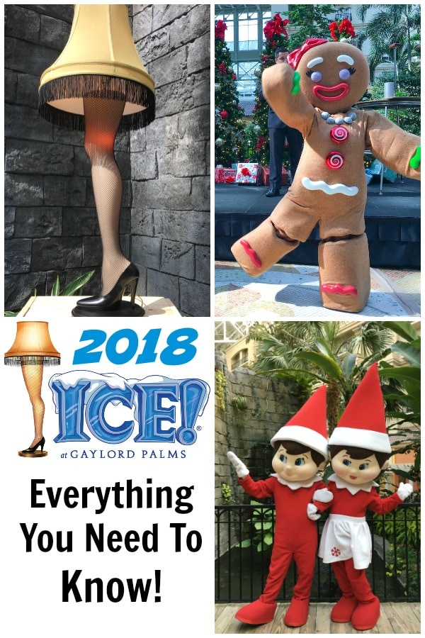 Gaylord Palms ICE 2018 A Christmas Story Orlando