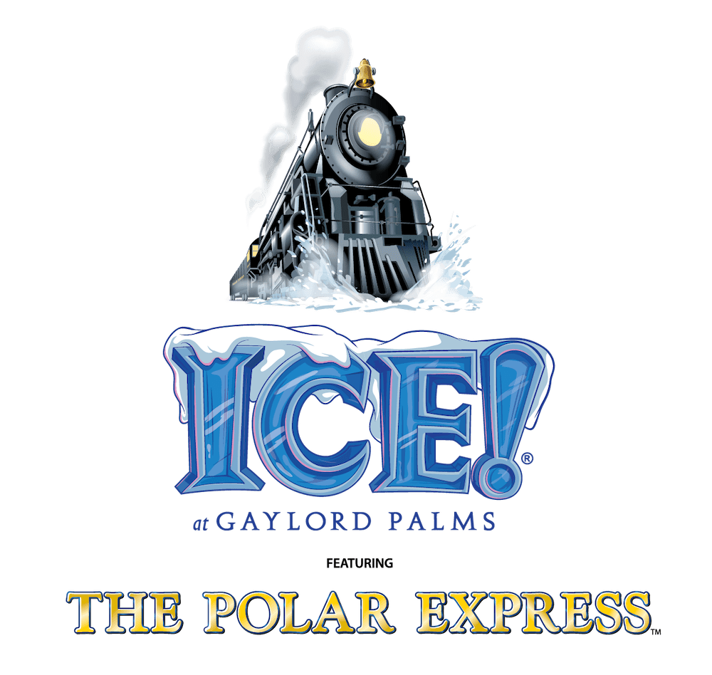 ice 2019 gaylord palms the polar express logo
