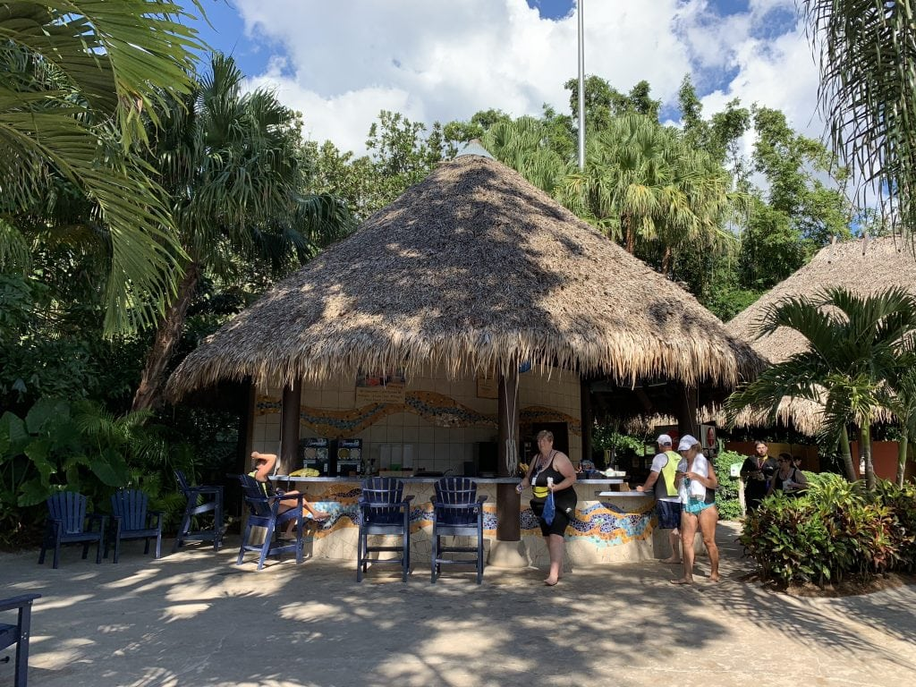 Snack stand discovery cove Orlando Florida