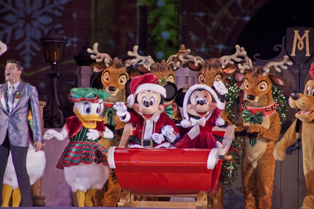 Mickey's Very Merry Christmas Party Magic Kingdom