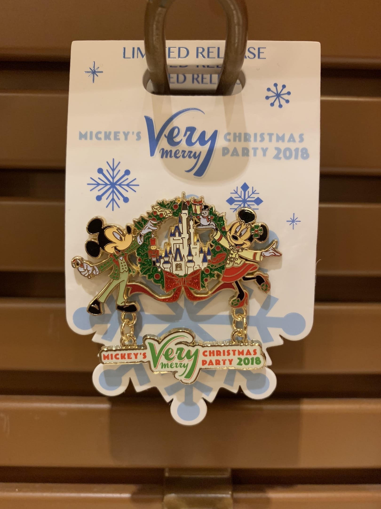 Mickey's Very Merry Christmas Party Pin Magic Kingdom