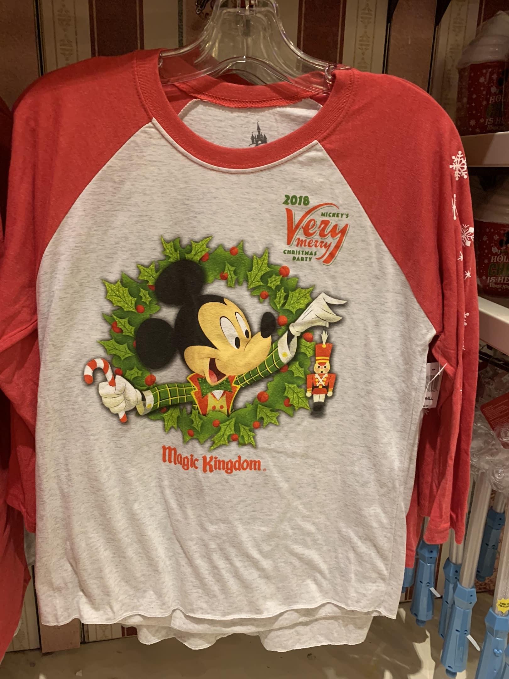 Mickey's Very Merry Christmas Party long sleeve shirt Magic Kingdom