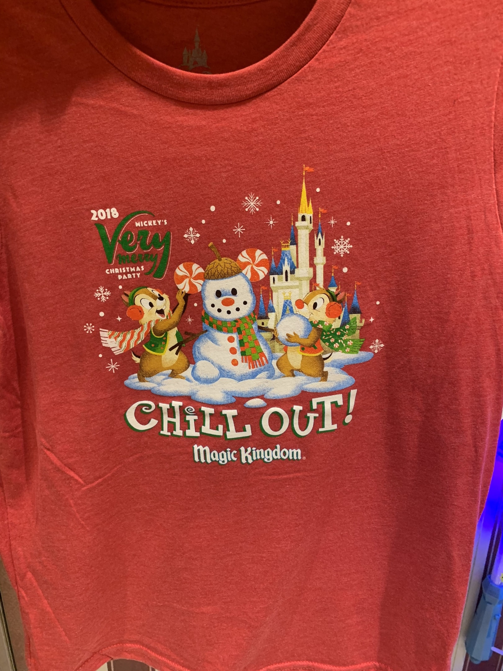 Mickey's Very Merry Christmas Party short sleeve shirt Magic Kingdom