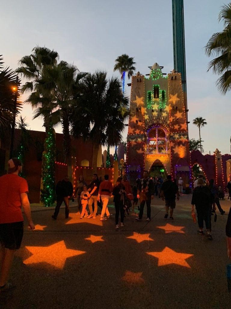 Pantopia Busch Gardens Christmas Town Tampa Bay